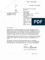 Barack Obama Foundation Irs Determination Letter July 21 2014