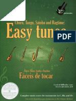 Easy Tunes - Choro, Tango, Samba e Ragtime Fáceis de Tocar