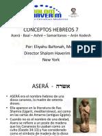 CONCEPTOS HEBREOS 7