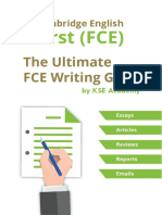 FCE Writing Guide