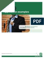 IBA Application Examples