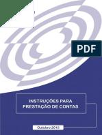 2017 Instrucoes Para Prestacao de Contas