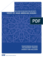 Voices of Arab Americans (D5/Open Societies) Connection