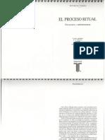 EL PROCESO RITUAL. Turner, Víctor