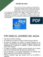Ahooro Del Agua y Ahorro Energetico