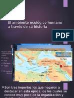 El Ambiente Ecológico Humano a Través de Su historia