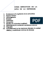 Factores específicos den la psicoterapia de la depresión