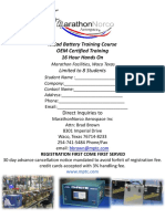 Training Course Flyer