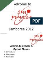 Atomic, Molecular and Optical Physics slides