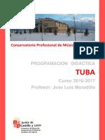 Programacion Tuba 2016-2017 Segovia