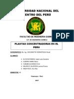 PLANTAS CONCENTRADORAS