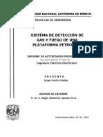 Sistema de Detección de Gas y Fuego de Una Plataforma Petrolera