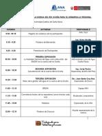 Seminario Importancia de La Cuenca Del Río Ocoña Para El Desarrollo Regional