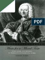Meaning in Telemann's Instrumental Works