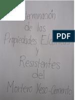 informe resistencia de materiales