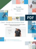 google merchandise store - shopper analysis