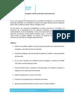 Brochure - Diálogo Energético Minero y Extractivo Latinoamericano