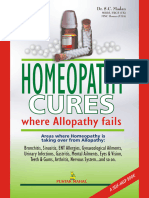 Homeopathy Cures Where Allopathy Fa