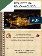 282203538 Arquitectura Republicana Del Cusco