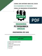 Endulzamiento de Gas com DEA en Hysys by Reyner Arroyo