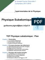 TEP Subatomique