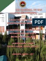 Informe Final - Estimación de La Demanda de Pisco