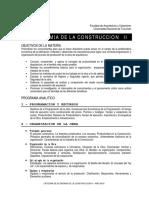 Programa Analitico Eco II