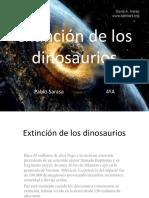 Extinción de los dinosaurio11.pptx
