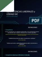 2016 Competencias y Codigo SIC