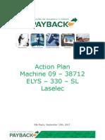 Machine 09 - 38712 Action Plan