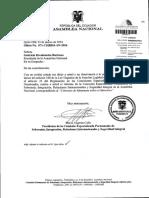 Informe de Comision Sobre El Pedido de Aprobacion Del Convenio de Minamata Sobre El Mercurio 23-03-2016