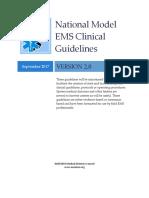 National Model EMS Clinical Guidelines Version2 Sept2017