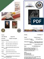 PCO-JCC Memorial Service