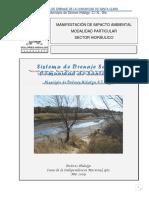 Tratamiento de Aguas Residuales en Comunidad S. Clara Hidalgo