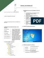 Examen de Windows XP