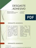 Desgaste-Adhesivo