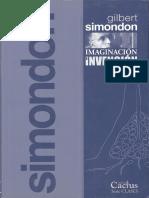 Simondon Gilbert - Imaginación e invención (1965 - 1966).pdf