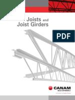 Canam Joist Girder Catalogue 2014