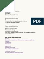 Notes May 20, 2014 Pharmacology Part 2