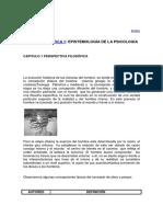 1 Cap 1 Epistemología de La Psicología