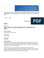 Japan Issues New Safety Standards for Agriculture and Food _Tokyo_Japan_1!25!2016