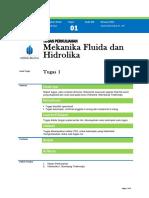 Tugas UTS Mekanika Fluida Part 1
