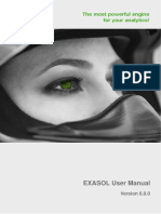 EXASOL User Manual 6.0.0 En