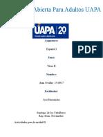 Tarea de La Unidad II Español