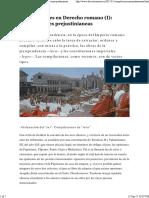 Codificaciones en Derecho Romano (I)_ Compilaciones Prejustinianeas