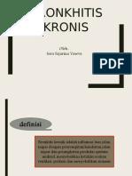 Bronkhitis Kronis