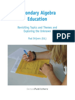 Secondary Algebra Education