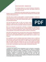 Caracterización de La Plataforma SOLE Colombia