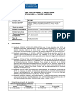 Informe de Sustento IEI Chejoña