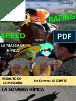Speed Rating 16-09-2017